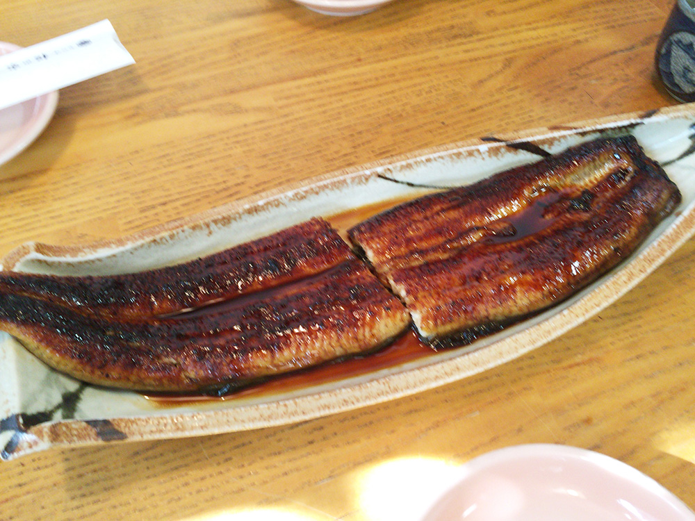 舘山寺-松の家-うなぎ鰻皿