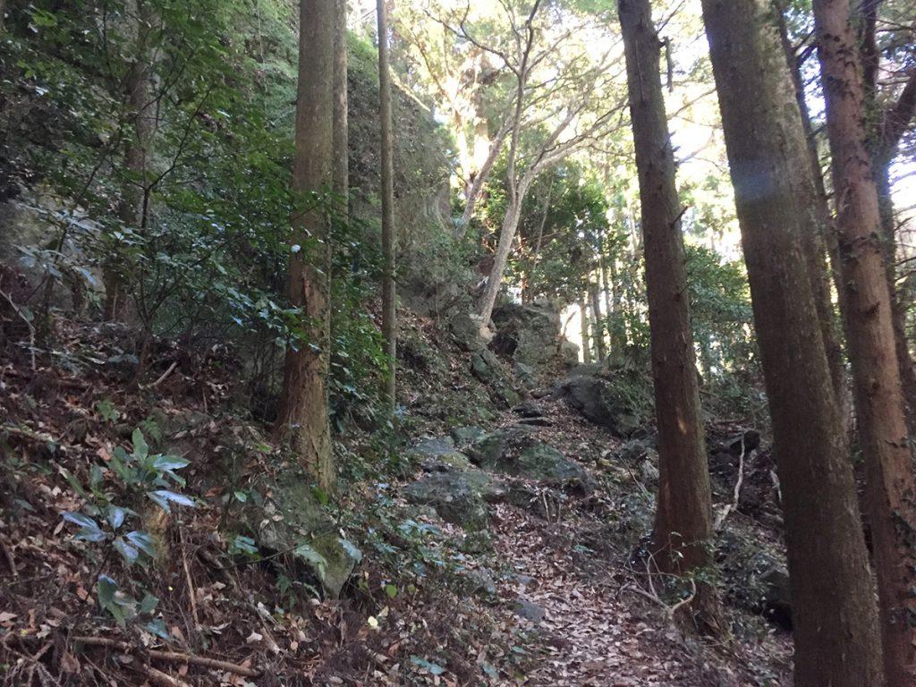 石谷山ハイキングコース コース写真