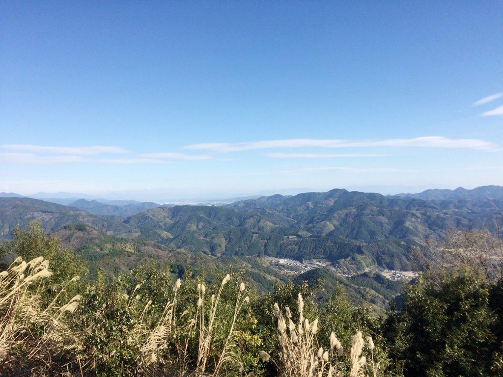 びく石ハイキングコース-山頂