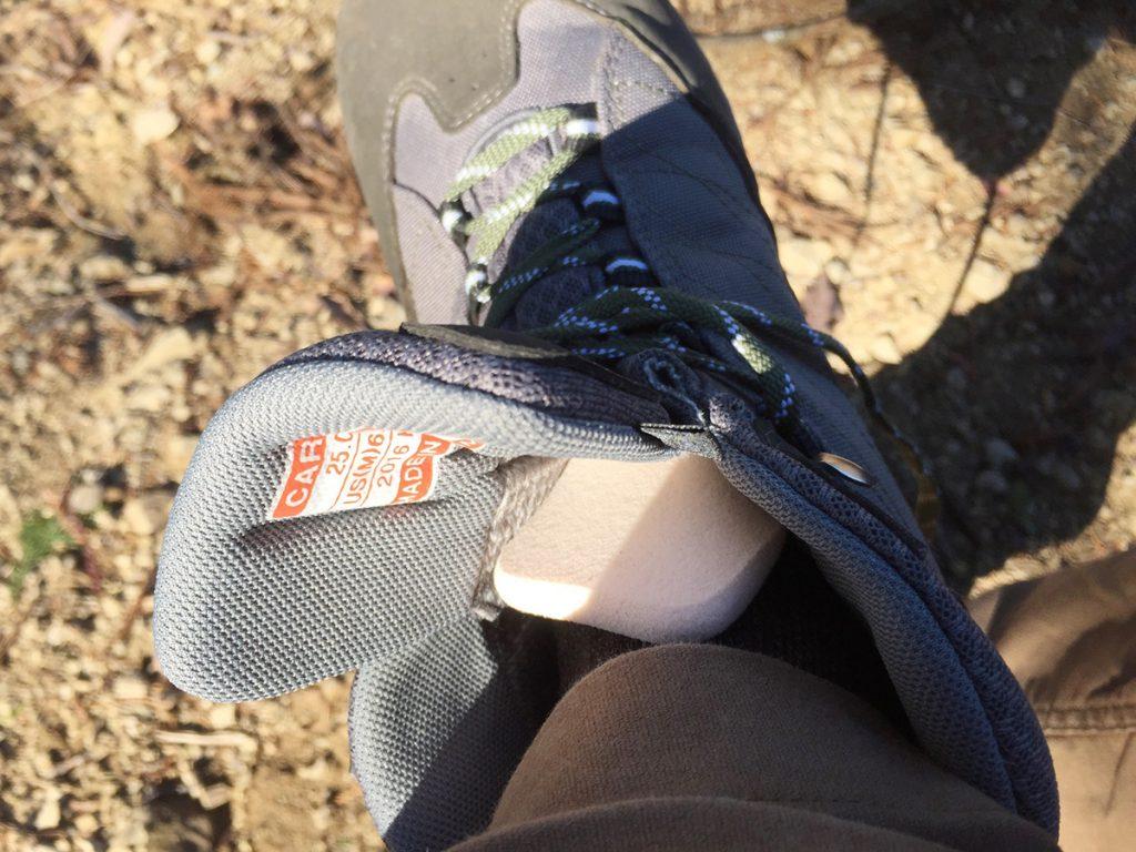 Caravan C1_HIKEのベロが痛い。靴ずれ・足首の痛みの対策