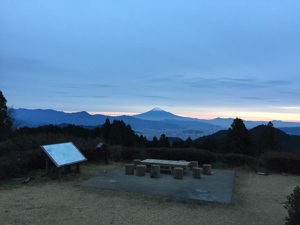 高草山・満観峰ハイキングコース 山頂