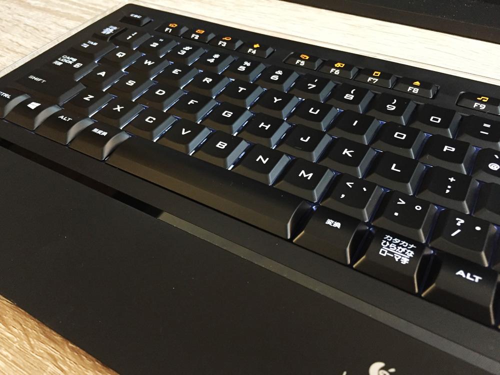 Logicool キーボード K740レビュー パンダグラフ式を採用