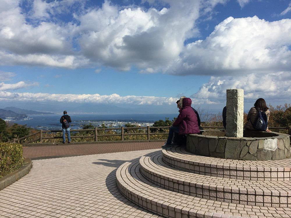 日本平の様子-頂上からの眺め