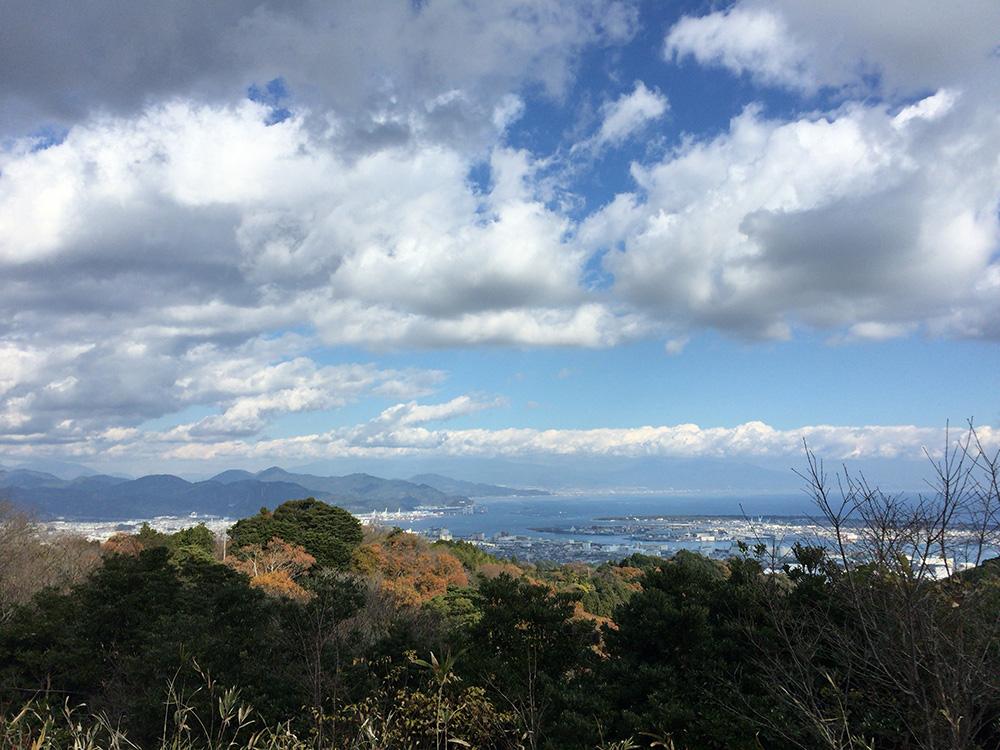 日本平の眺望