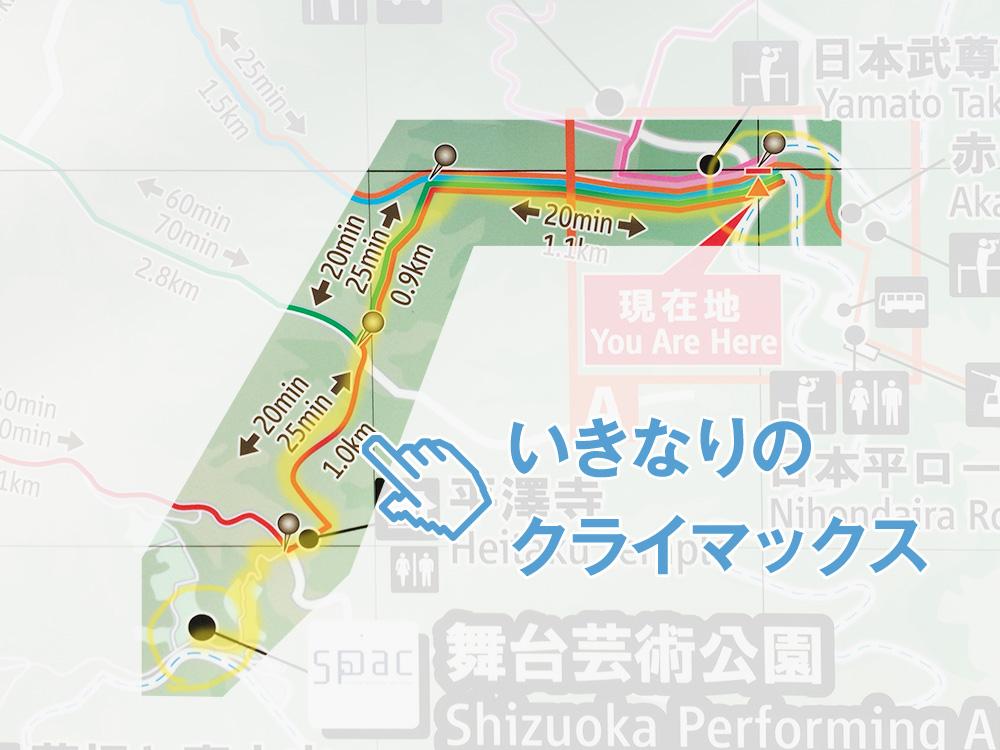 日本平ハイキングコース-説明とルート