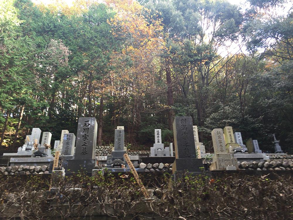 日本平ハイキングコース-平澤寺からの奥