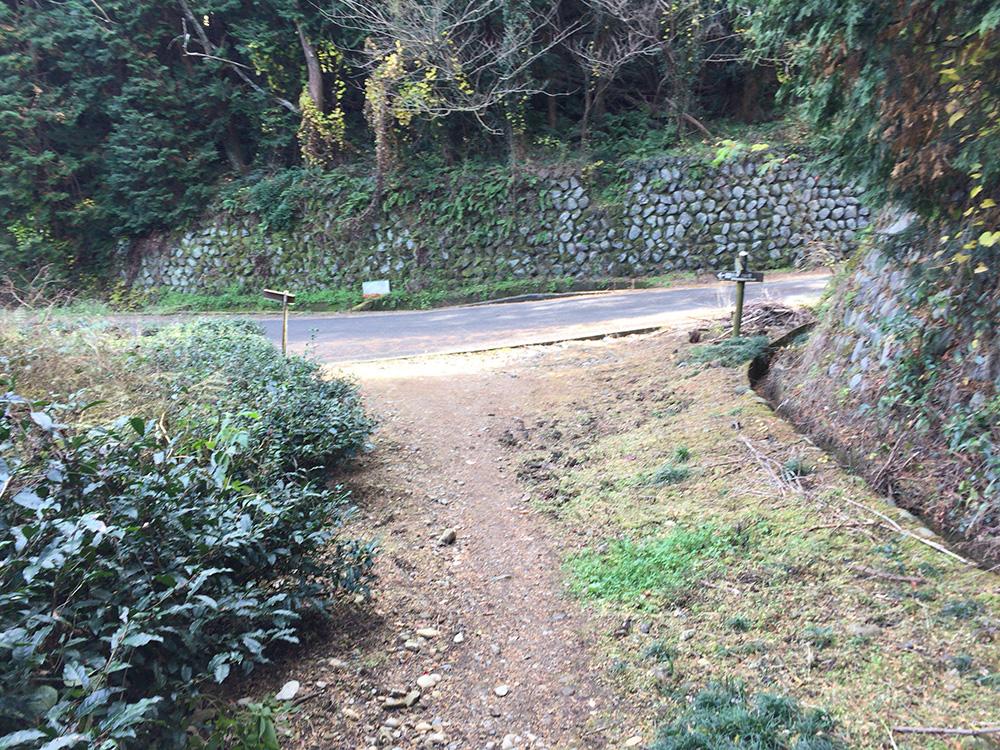 日本平ハイキングコース-入り方