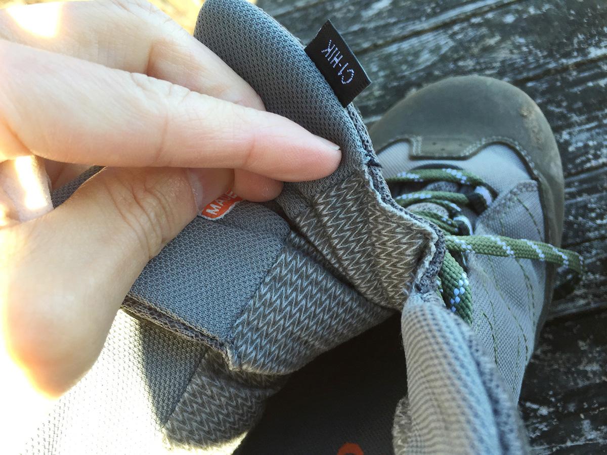 キャラバン-トレッキングシューズの靴ずれ