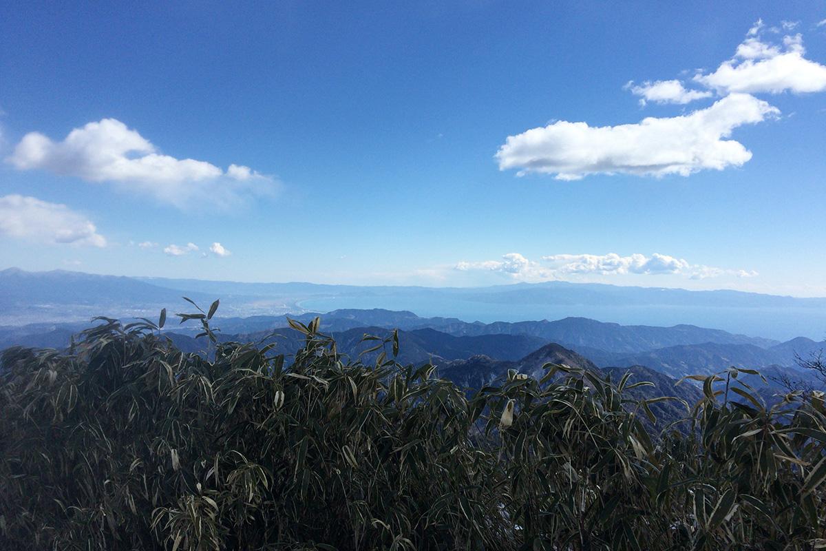 青笹山 景色