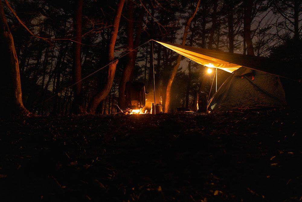 本栖湖キャンプ場。寒さと夜の気温は?