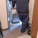 賃貸の狭いドア幅 ドラム式洗濯機が入らない!